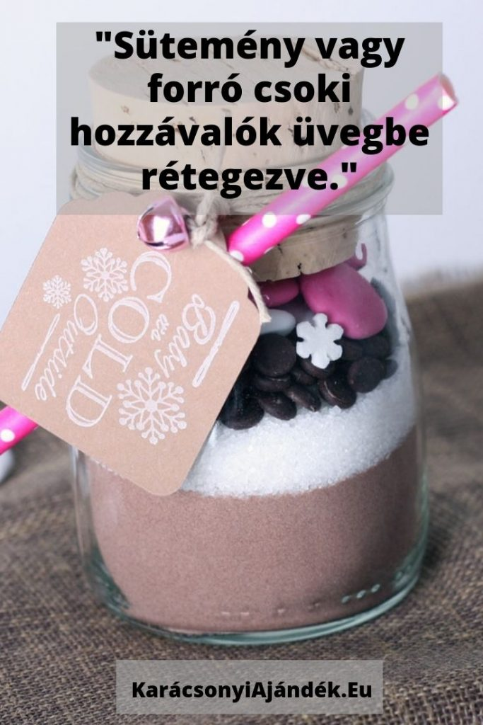 karácsonyi ajándék ötletek házilag sütemény