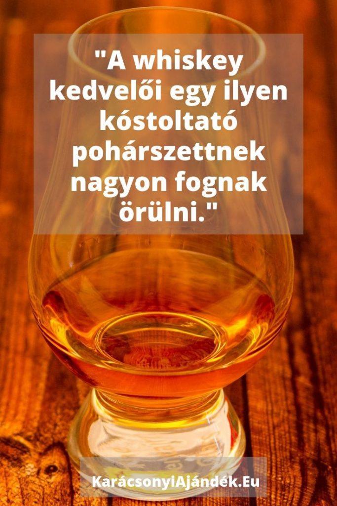 karácsonyi ajándék férfiaknak whisky