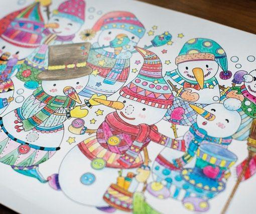karácsonyi ajándék rajz